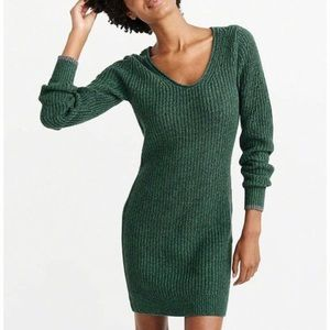 Abercrombie & Fitch Sweater Dress Green XS NWT